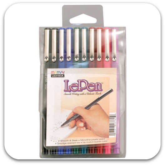 Marvy Uchida LePen Basic Set of 10