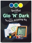 Speedball Glo 'N' Dark Fabric Screen Printing Kit