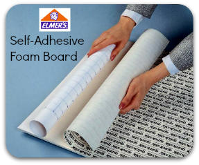 Elmers Self Adhesive Foam Board