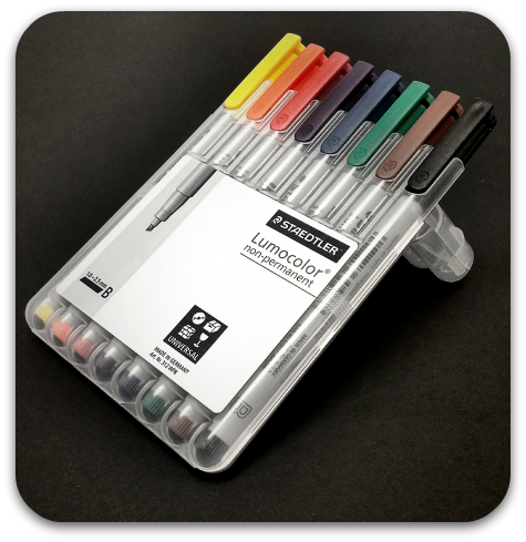 Staedtler Lumocolor Non-Permanent Markers