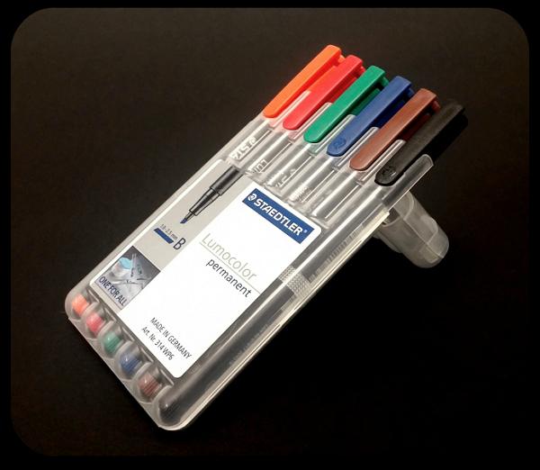 Staedtler Lumocolor Permanent Markers
