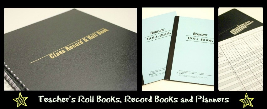 Teachers Planners, Record and Roll Books