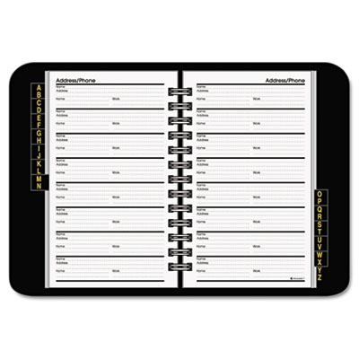 AtAGlance Telephone and Address Book – Contact Book Template