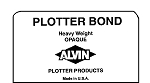 Alvin Heavyweight Opaque Plotter Bond Sheets 18x24 100 Sheets