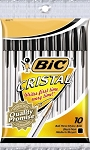 Bic Cristal Ball Point Pens