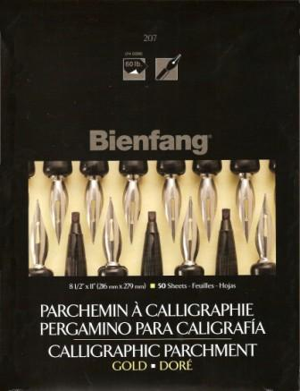 Bienfang Gold Calligraphy Paper