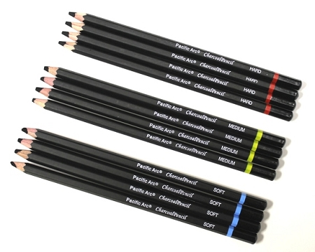 pacific arc charcoal pencil set