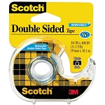 Scotch Double Sided Removable Tape in Dispenser