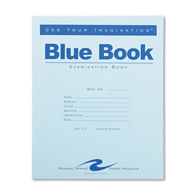 blue books for essays What is a college blue book professors often use these for college exams in which you are expected to write essays how big are college blue books.