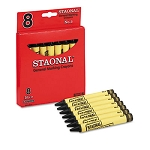 Staonal Black Marking Crayons