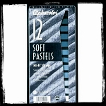 Alphacolor Hi-Fi Gray Set of 12 Pastels