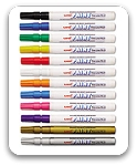 Uni-Paint Fine Point Markers Set of 12 Assorted Colors