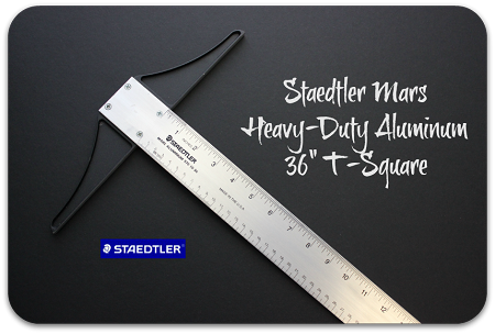 Staedtler Heavy-Duty Aluminum 36 Inch T-Square