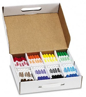 Dixon Washable Markers School Pack