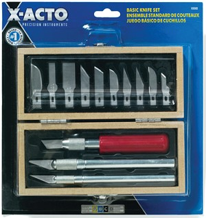 X-Acto Basic Knife Set X5282