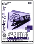 Borden and Riley #32 Ledger Hammermill Paper