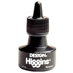 Higgins Waterproof Black Ink