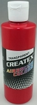 Createx Airbrush Paint 8 oz Brite Red