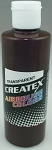 Createx Airbrush Paint 2 oz Dark Brown