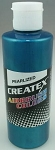 Createx Airbrush Paint 8 oz Pearl Turquoise
