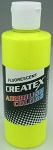 Createx Airbrush Paint 8 oz Fluorescent Yellow