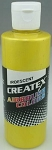 Createx Airbrush Paint 8 oz Iridescent Yellow
