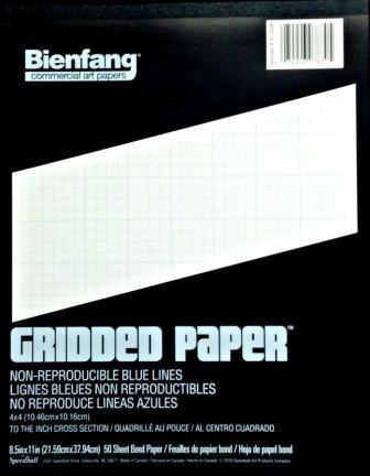 bienfang cross section grid paper