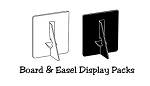 Board and Easel Display Packs