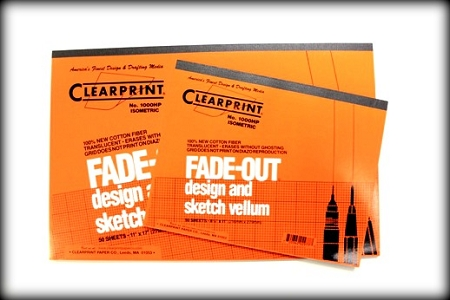 Clearprint Isometric Design And Sketch Pads