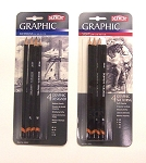 Derwent 4-Piece Graphic Pencils Sets
