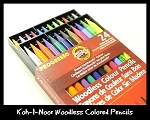 Koh-I-Noor Woodless Colored Pencils