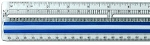 Falcon 15 Inch Magnifying Ruler