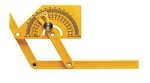 General Tools Plastic Protractor