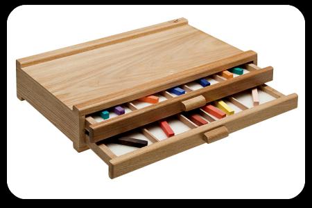 Heritage Pastel Storage Boxes