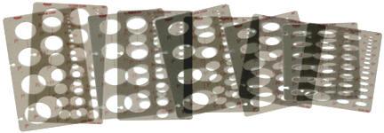 Pickett Ellipse Template Sets