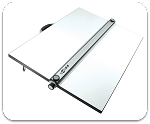 Alvin PXB Parallel Straightedge Drawing Boards