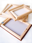Silk Screen Frame with Fabric