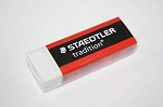 Staedtler Mars Tradition White Vinyl Eraser - 4 pack