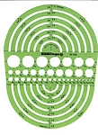 Pickett 1202i Circle Radius Master Template