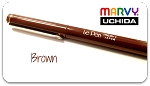 Marvy Uchida Le Pens - Brown