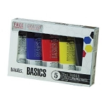 Liquitex® Basics  Acrylic 5-Color Set