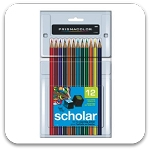 Prismacolor Scholar 12 Colored Pencils Set