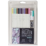 Tombow Irojiten Tranquil Colored Pencil set of 12
