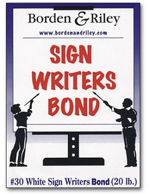 Borden and Riley Sign Writers Bond