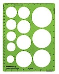 Rapidesign R440 Extra Large Circles Template