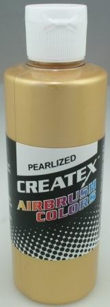 Createx Airbrush Paint 16 oz Pearl Satin Gold