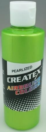 Createx Airbrush Paint 2 oz Pearl Lime