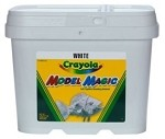 Crayola Model Magic 2 lb. Bucket White