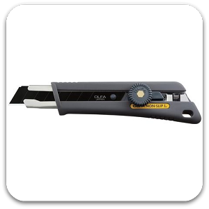 Olfa NOL1BB Cushion Grip Ratchet Lock Utility Knife