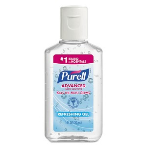 Purell Advanced Hand Sanitizer 1 oz.  10 PACK